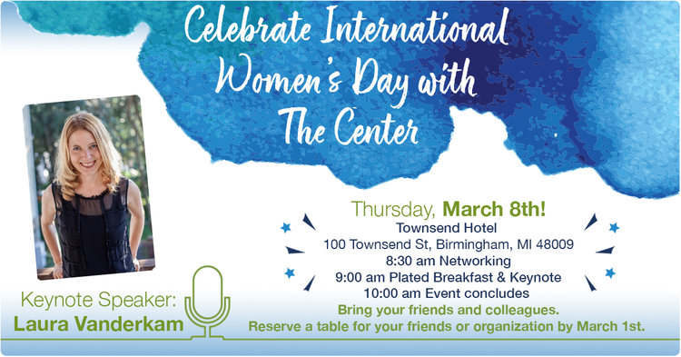 Third Party Event: International Women's Day with the Center for Financial Planning